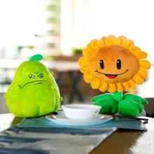 植物大战僵尸儿童毛绒玩具,窝瓜豌豆射手多款可选