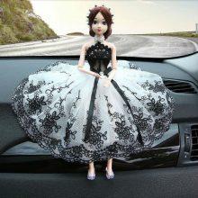 虫不知公主娃娃汽车饰品摆件,适合送自己送爱人送朋友