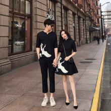中国风仙鹤定制情侣装,不挑身材展现完美复古气质