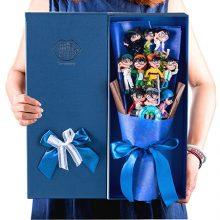 名侦探柯南公仔玩偶花束,一款适合送礼的花束