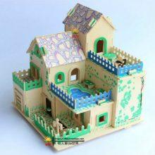 儿童花园洋房拼接积木,多种房子模型可选有益智力开发