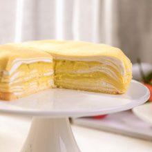 苏丹王榴莲千层蛋糕,给你浓郁口感的滋味