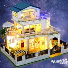 手工模型DIY小屋,专属于你的三层大豪宅