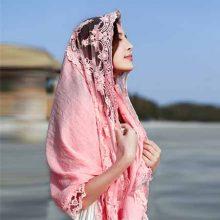 POLKADOT夏季新款两用丝巾,可防嗮的唯美丝巾披肩