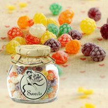 西班牙进口草莓形什锦味糖果,适合送给吃货女友的节日礼物