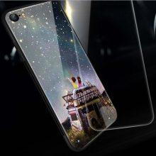 苹果7plus潮流手机壳,个性创意的软边硅胶玻璃壳