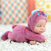 比伯婴儿安抚娃娃玩具,萌熊兔子大号瓢虫系列可选