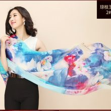 上海故事长款羊毛丝巾,给妈妈的时尚保暖礼物
