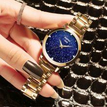 宾派蓝砂石石英女士手表,将漫天繁星装进手表中