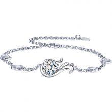 伊泰莲娜十二星座纯银手链,专属于你的守护之星