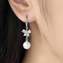 莎小姐s925银时尚耳环,闪耀又精美的时尚耳饰