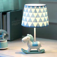 可调光的小马台灯,送给小公主的可爱台灯摆件