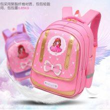 公主风蝴蝶结双肩包,让孩子每天都能愉快的上学
