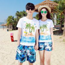 时尚沙滩度假情侣套装,来一场浪漫的夏日约会