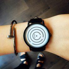 极简无指针迷宫概念手表,一款考验你智商的手表