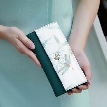 中国风简约时尚女士钱包,优雅气质女神的最佳选择