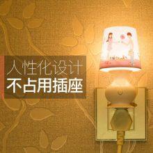 创意遥控LED小夜灯,超实用可10挡调光的可爱小台灯
