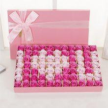 香皂玫瑰花花束礼盒,情人节的浪漫之选