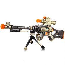 DFPC男童仿真带音乐玩具枪,冲锋枪机关枪突击枪多种款式可选