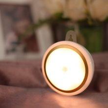 触摸式智能感应LED小夜灯,一款适合给婴儿喂奶的床头灯