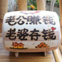木头工场创意木制DIY存钱罐,帮助孩子从小养成理财的习惯