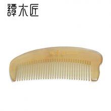 谭木匠天然白角羊角梳,呵护头发就要真材实料好梳子