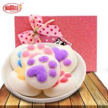 金稻谷猫爪棉花糖创意礼盒,送给女友甜蜜的爱
