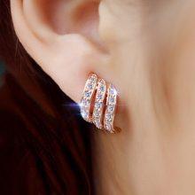 个性百搭耳夹,没有打耳洞的美眉也可以戴漂亮耳环了