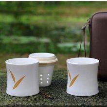 便携式竹节茶具,送给长辈的最实用礼物