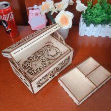 DIY记忆年华木质双层魔法音乐盒,送女生表白求婚最佳礼物