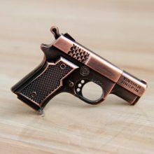 闪杰金属左轮手枪外型U盘,霸气外露的个性小礼品