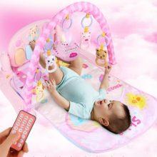 婴儿脚踏钢琴健身架,内置儿歌故事百科海量内容
