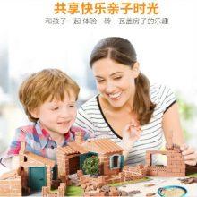 mideer3D真砖实瓦DIY小屋,和孩子一起享受快乐的亲子时光