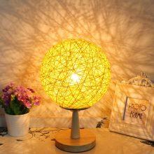少女心镂空藤条台灯,一款温暖而有特色的小夜灯