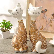 创意情侣猫咪摆件,送给闺蜜朋友的新婚礼物