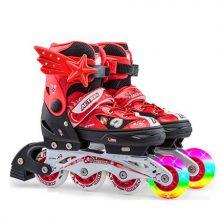 动感儿童溜冰鞋套装,孩子初学轮滑的必备溜冰鞋