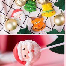 圣诞节创意盒装棒棒糖,一款超有节日气息的糖果