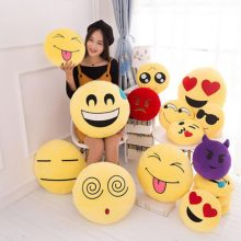 创意QQ表情包抱枕,可爱有趣的搞怪公仔