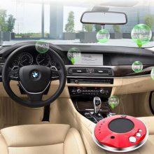 AJS太阳能车载空气净化加湿器,让你的车内远离异味