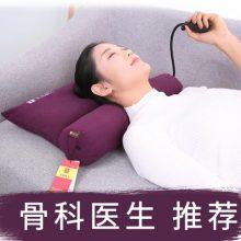 可热敷决明子护颈枕,能自由调节高度的成人保健枕