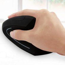 蓝牙无线垂直鼠标,高端设计握感舒适合理