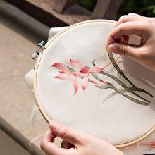 纯手工刺绣初学者套装,让生活慢下来的最佳方式