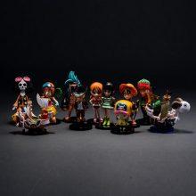海贼王全套35款公仔手办,动漫迷们的最爱