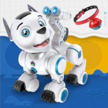 乐能AI智能仿生狗电动玩具,陪伴孩子一起边玩边学