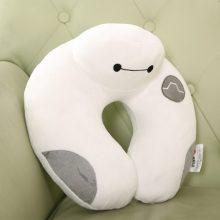 可爱大白卡通午睡U型枕,超实用萌萌哒护颈枕