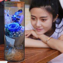 永生花许愿瓶玻璃花筒,爱的感觉就是这么美