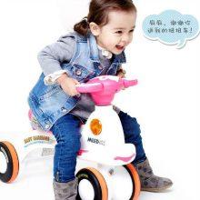 米蓝图儿童带音乐万向轮扭扭车,送给孩子最好的礼物