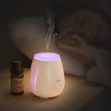 美的保湿香薰小夜灯,24小时给予最贴心的呵护