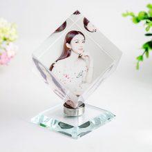照片定制水晶魔方,一件送给女生朋友的创意礼物