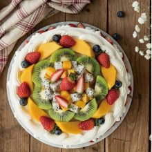 幸福西饼鲜奶水果蛋糕,美味香浓挡不住的诱惑